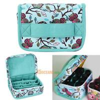 Portable Essential Oil Carrying Case Holder 20 Bottles Storage Bag 5ml/10ml/15ml