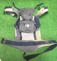 Ergo Baby Original Active Navy Blue Grey Gray Baby Carrier Fast Free Shipping