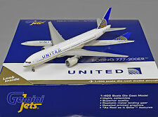 Gemini Jets 1:400 United Airlines Boeing 777-200ER N796UA GJUAL1589