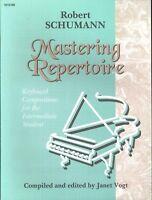Schumann Mastering Repertoire Intermediate Piano 1998 Happy Farmer Etude March