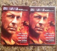 Die Hard: The Ultimate Collection (DVD, 2009, 4-Disc Set, Canadian)