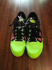 New NIKE Zoom Rival MD Sz 14Mens Track Spikes Mid Distance Running Shoes Green