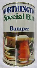 Vtg Worthington Special Bitter Bumper 2.2 Liter Party Keg 1/2 Gal Beer Can Steel