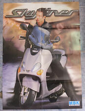 MBK SCOOTER 1999 SKYLINER POSTER DEPLIANT CATALOGO BROCHURE CATALOG