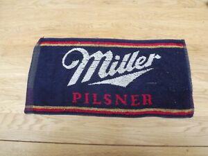 Vintage Miller Pilsner  Bar Towel used