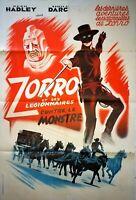Plakat Kino Zorro Und Ses Legionär Gegen Le Monster - 80 X 120 CM
