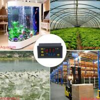 110V-220V Digital Temperature High Precision Controller Thermostat -55~120℃ W7V2