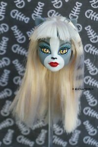 Monster High Meowlody 1ST WAVE Doll Head