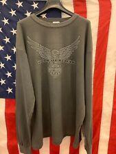 Harley Davidson Maglietta T-Shirt  Moto Motorcyclist Maglia tshirt uomo Size XL