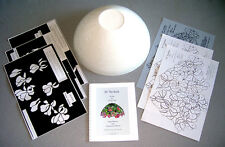 "Stained Glass Lamp Kit Conti Studios 12"" Georgina  PRICE REDUCED FOR HOLIDAYS"