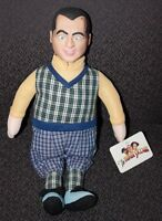 Curly Plush Toy 3 Three Stooges Golf Clothes Vinyl Face Head 1999 play by play