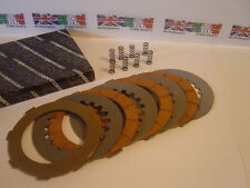 Vespa Cosa Clutch Plate Kit / Late Type Cork plates, steels & springs - PXdisc