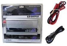 POWER INVERTER 1200W 1200 W WATT TRASFORMATORE CORRENTE 220 12 VOLT AUTO CAMPER