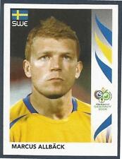 PANINI FIFA WORLD CUP-GERMANY 2006- #165-SWEDEN-ASTON VILLA-MARCUS ALLBACK