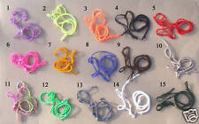 Lot of 10 Breyer Horse Rope Halter w/Matching Lead