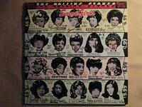 Rolling Stones, Some Girls, die cut cover, rare UK pressing