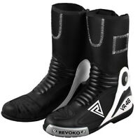 VR46 Valentino Rossi Motorcycle Motogp Motorbike Racing Leather Boots Shoes