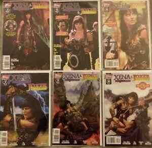 XENA Warrior Princess & JOXER Warrior Prince Comic SETS - Live & Animated Covers