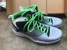 innovative design baec1 604de NIKE JORDAN FLY WADE RADIANT GREEN-WHITE-BLACK SZ 13 RARE!