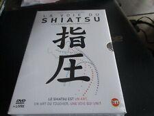 """COFFRET DVD + LIVRE NEUF """"LA VOIE DU SHIATSU"""""""