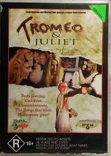 TROMEO & JULIET DVD TROMA - Rare OOP Original Print - JAMES GUNN