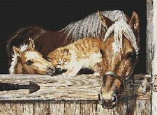 Stable Mates Counted Cross Stitch Kit Animals Insects