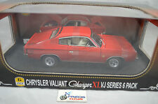 Valiant Charger XL VJ Series 6 Pack Diecast Model Car Vintage Red 1 24