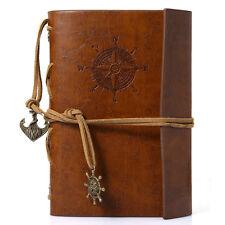 Brown Traveller's Handbook Notebook Diary Vintage Outdoor Pocket Notebook AU