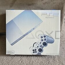 Sony Play Station 2 PS2 Silm Satin Silver SCPH-90001 Console Brand New Sealed