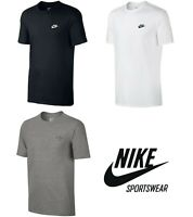 Herren Nike Sportswear Sportstyle T-Shirt Baumwolle Kurzarm T-Shirt 827021