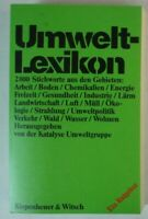 Umwelt Lexikon Ein Ratgeber Kiepenheuer& Witsch Y5-413