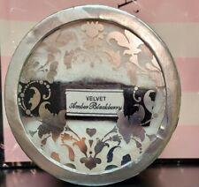 New Victoria's Secret Velvet Amber Blackberry Luminous Body Fragrance Powder