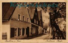 AK Leśna (Marklissa a. Queis) Krs. Lauban, Schles., Neuhäuser Straße,1943, 25/02