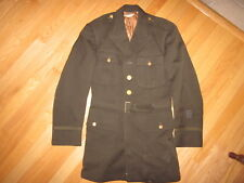 Vintage WWII US Army dress Class A officer jacket  !!!