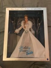 BARBIE WINTER FANTASY FIRST IN SERIES HOLIDAY VISIONS 2003 DOLL NIB NRFB