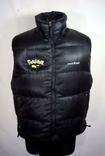 Men's Montbell Alpine 800 Pokemon Center NYC Goose Down Puffer Vest XL Pikachu