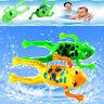 Wind-Up Frog Swimming Pool Badezeit Tier Uhrwerk Floating Kid Baby Spielzeu li