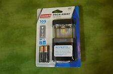 Coleman LED Mini Lantern 105 Lumens Collapsible 4AA Pack Away No Glare  TM01