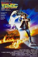 Back to the Future Movie Reproduction Poster 24 x 36