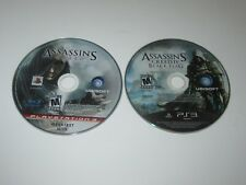 Assassin's Creed Games - Playstation 3 PS3 Lot Of 2  - Disc Only