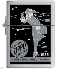 ZIPPO ★ WINDY GIRL 1935 REPLICA