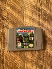 Army Men Sarges Heroes 3Do Game (Nintendo 64)  [Tested/Works]