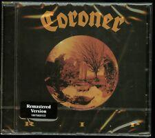 Coroner R.I.P CD new 2018 reissue RIP
