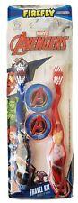Marvel Avengers - Oral Health - Travel Kit - 2 Toothbrushes & Toothbrush Caps