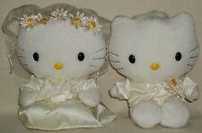 Hello Kitty & Daniel Wedding White Dress Tuxedo Bouquet Plush Doll Sanrio