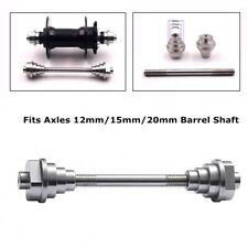 Universal Thru Axle Adaptors Wheel Fixing Truing Stand Mechanic Tool 12/15/20 mm