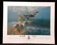 The Dambusters by Frank Wootton,Limited Edition, Signed by Pilots,AP,Print