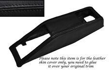 BLACK STITCHING SEAT BELT BINNACLE SKIN COVER FITS TRIUMPH STAG MK1 MK2 70-77