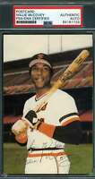 Wille Mccovey PSA DNA Coa Autograph Hand Signed Team Issue Photo