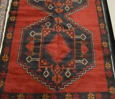 3'8 x 6'5 Afghan Balouch Turkoman Hand Knotted Oriental Wool Area Rug Carpet 4x6